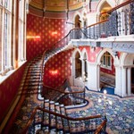 Hotel grand staircase